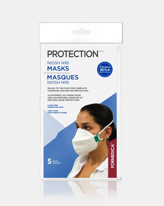 masque visage medical n95